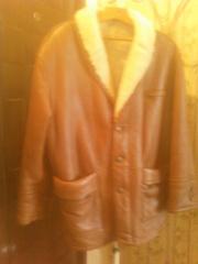 Продаю новую кожанную куртку на меху