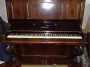 Продам Антикварное пианино J. Bluthner. С медалями. Коричневый. Германия