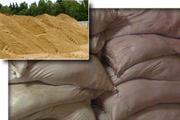 Карьерный песок фасованный в мешках,  песок в Николаеве