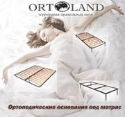 Каркасы кроватей (ортопедические основания)