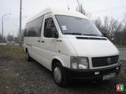 Пас перевозки комфортабельным м/автобусом VW 18мест (050)9576764