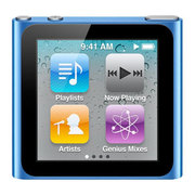 MP3 плеер Apple iPod nano 6 8Gb синий (привизённый из США)