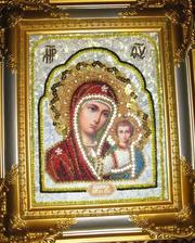 Бисерные иконы Пресвятой Богородицы Казанской...