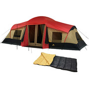 Кемпинговая палатка (10 мест,  3 комнаты) + подарок