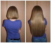 Наращивание волос !!!!!!
