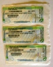 Лицензионные наклейки Windows XP и Seven Ultimate
