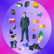 Продаем спецодежду, рабочая обувь, перчатки и рукавицы, респираторы