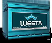 Новый авто аккумулятор WESTA Premium 60/600 с гарантией