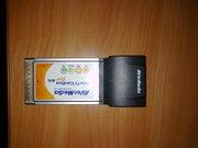 ТВ тюнер PCMCI для ноутбука AverMedia E501R
