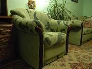мягкий уголок (диван + кресло) - продажа Николаев