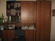 Комплект офисной мебели: 4 шкафа,  стол,  тумба