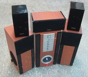 Продаю HI-FI 5.1 акустику для домашнего кинотеатра (AJ-92)