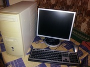 Компьютер с монитором ЖК 17`Samsung Athlon64-3800+