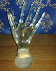 Подставка для колец (рука),  браслетов