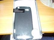 Новый Силиконовый чехол для HTC One V черный