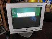 монитор LG FLATRON F900B на ремонт или запчасти