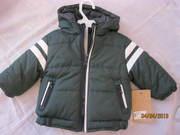 продам новую детскую куртку для мальчика 68 р.