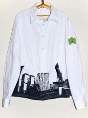 Продаю женскую рубашку фирмы Termit  цена 115 грн