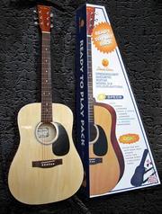 СРОЧНО!Продается аккустическая гитара Pearl River D-2