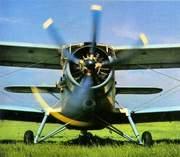 Самолет Ан-2 для защиты кукурузы и подсолнечника от совки