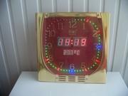 Часы-термометр на микроконтроллере ATmega8 с секундной стрелкой