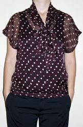 Продаю элегантную легкую блузку фирмы OGGI,  размер M