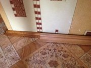 Плинтуса деревянные и  дверные коробки