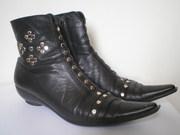 продаю ботиночки,  черные, натур.кожа р.38 , хорошее состояние и качество
