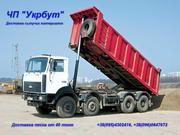 Доставка строительного песка от 25 тонн