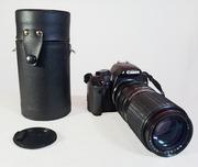 Советский длиннофокусный фотообъектив Телеар-5Б