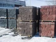 Рваный камень,  Николаев Шлакоблок с декоративной «рваной» поверхностью