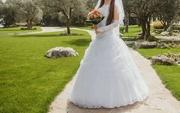 Свадебное платье для миниатюрной невесты