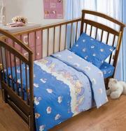 недорогое детское постельное белье