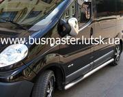 Хром-накладки Renault Trafic на зеркала,  ручки,  решетку