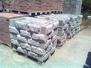Шлакоблок рваный камень,  Николаев Рваный,  колотый шлакоблок купить