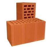 Продам кирпич блок двойной пустотелый керамический М-125