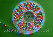 Гибкая светодиодная лента многоцветная 12v RGB 3528/60 5м.