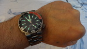 часы Орис ТТ1 дайвер титан. 633.7541.7054мв.