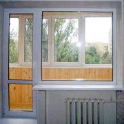 Металопластиковые балконные блоки.