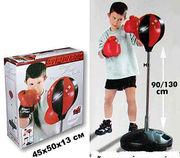Детский боксерский спортивный набор (боксерская груша и перчатки): от