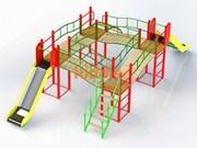 Игровые комплексы и  площадки