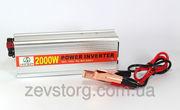 Преобразователь,  инвертор,  12v-220v,  2000W ACDC (HAD)