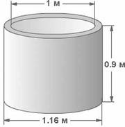 Колодезные бетонные кольца кс 10-9 цена
