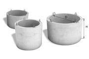 Кольца бетонные  размеры 1м,  1, 5м