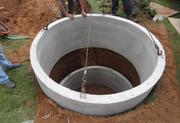 Кольца бетонные для сливных ям цена