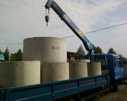 Кольца бетонные доставка установка цена