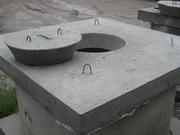 Крышки,  днища бетонные для колодцев доставка,  монтаж