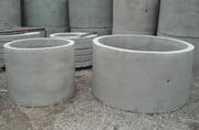 Кольца бетонные колодезные кс 10-9,  кс 15-9 размеры 1м,  1, 5м