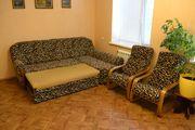 Продаю диван угловой и два кресла (срочно)