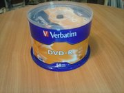 Диск Verbatim DVD-R 4, 7 GB 16x Cake Box 50 шт (43548)